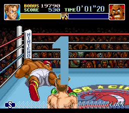 Super Punch-Out!! - in 1 second his down - User Screenshot